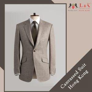 Hong Kong full canvas suit, Custom clothing Hong Kong, Fully canvassed suit Hong Kong